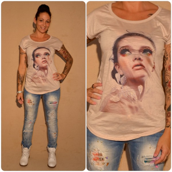 Stylisches Shirt Modell: Make Up LADY BEIGE
