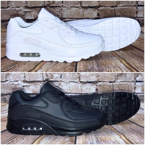 Bequeme BASIC LUFT Sportschuhe / Sneakers in 2 Farben (Linix)