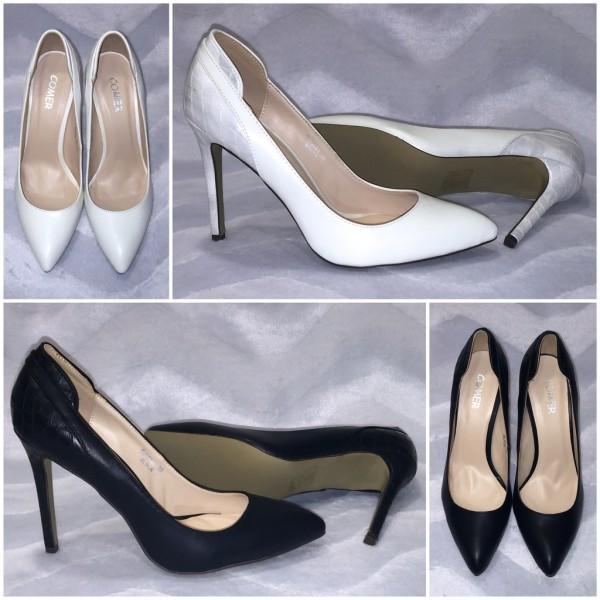 Spitze elegante High Heels / Pumps in Sling Look