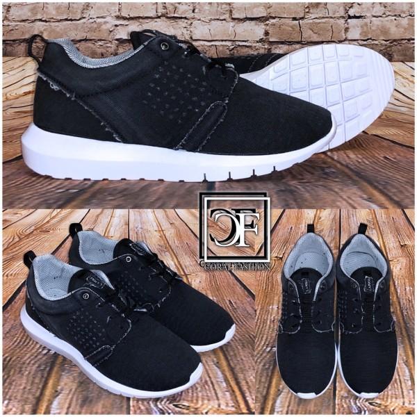 HERREN Schuhe / Sneakers / Sportschuhe DENIM Jeans SCHWARZ
