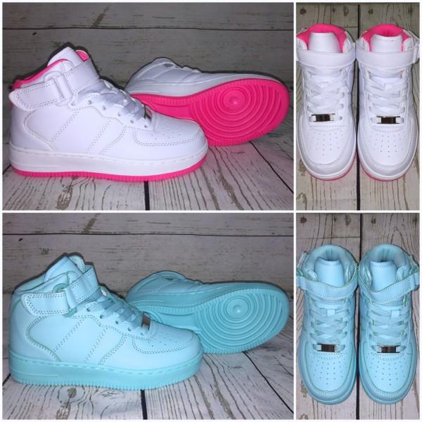 KINDER *NEW Style Highcut KLETT Sportschuhe / Sneakers