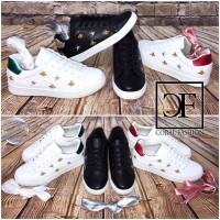 BEES & STARS LOW CUT Sportschuhe / Sneakers + GRATIS Color Satin Schnürsenkel