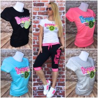 Bequemes Jersey T-SHIRT *US MERSHALL*