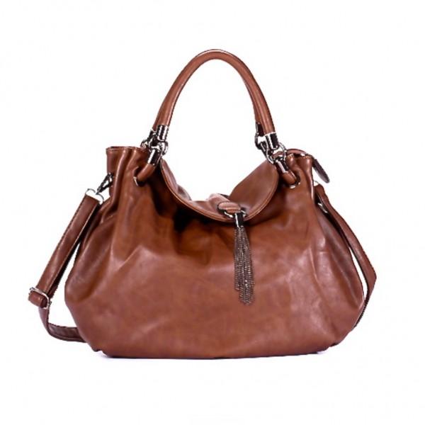 FLORA & CO Paris Handtasche KUPFER (7026)