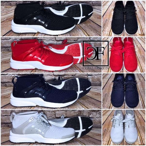 Bequeme Highcut HERREN Sportschuhe / Sneakers