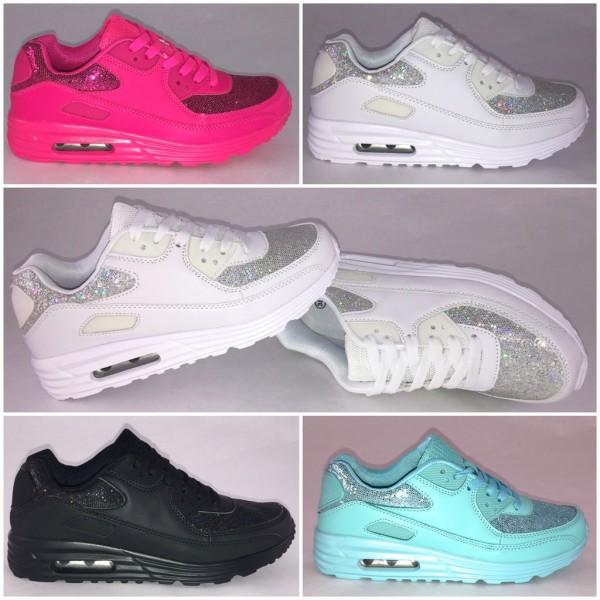 GLITTER GLITZER New Style LUFT Sportschuhe Sneakers