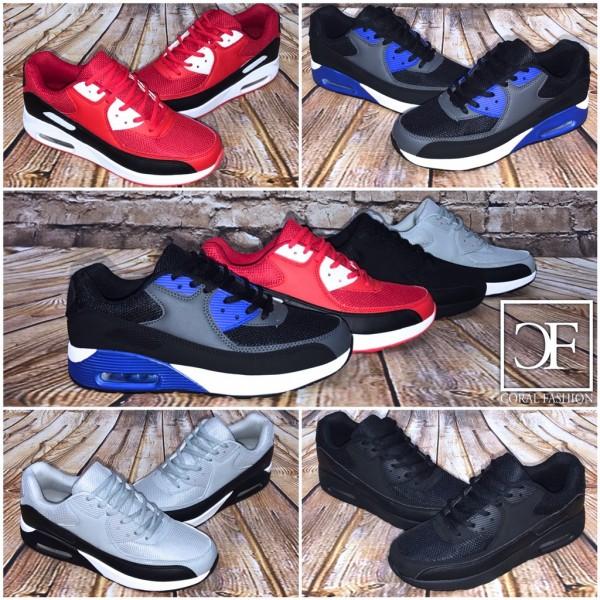 Bequeme HERREN LUFT Sportschuhe / Sneakers in 4 Farben