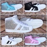 Coole HIGH CUT 2 STRIPE Sportschuhe / Sneakers in 5 Farben