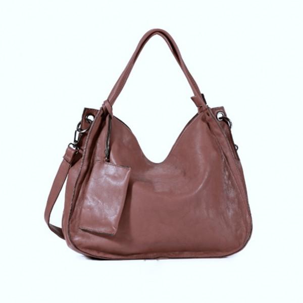FLORA & CO Paris Handtasche mit Schlüsseltäschchen KUPFER (7038)
