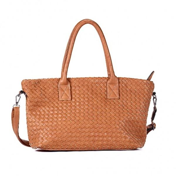FLORA & CO Paris Handtasche CAMEL (7011)