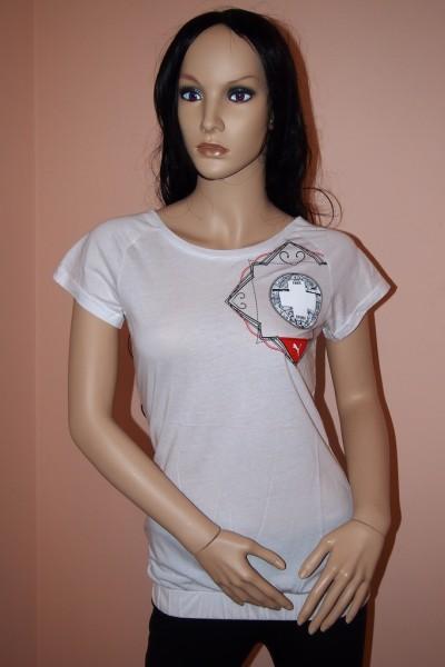 PUMA Damen Sport Shirt WEISS