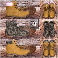 Bequeme High Cut Kunstleder Schnürboots / Boots in 3 Farben
