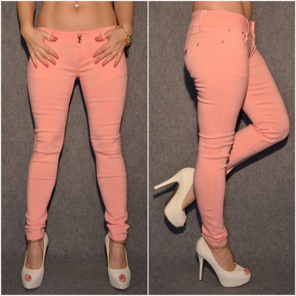 Fashion Stretch Hose PFIRSICH