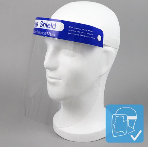 Gesichtsschild Premium FACE SHIELD Gesichtsschutz 33x22 cm