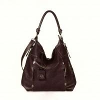 FLORA & CO Paris Handtasche SCHOKO (7030)
