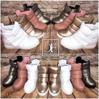 Fashion HIGHCUT klett Sportschuhe / Sneakers mit erhöhter Innensohle