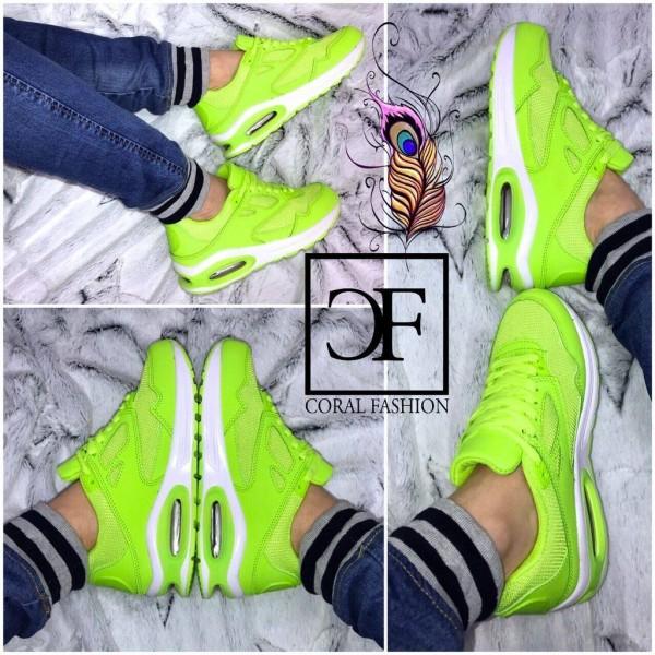 *ANGEBOT unisex DOUBLE LUFT Sportschuhe / Sneakers GRÜN