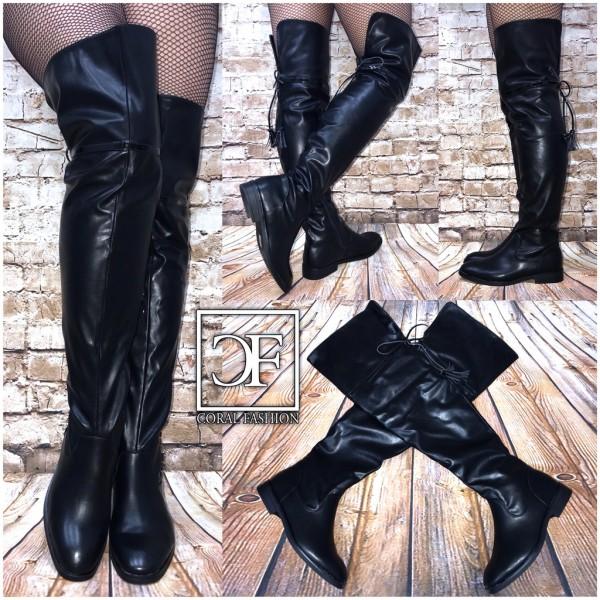 AKTION!!! OVERKNEE Stiefel mit Strasssteinen für Herbst//Winter BRAUN
