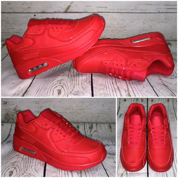 Coole LUFT Sneakers / Sportschuhe ROT