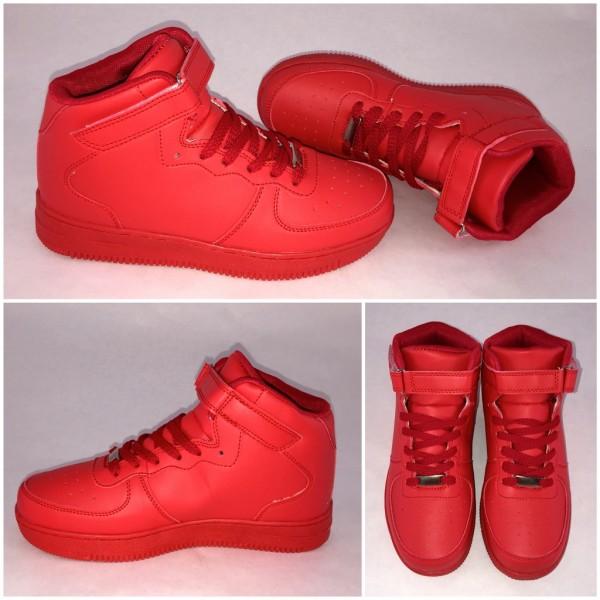 NEW Style Highcut KLETT Sportschuhe / Sneakers ROT