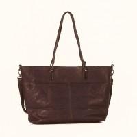 FLORA & CO Paris Handtasche TAUPE (9922)