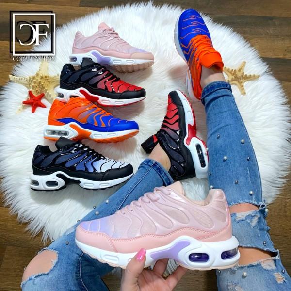 Damen DOUBLE Zebra LUFT Sportschuhe / Sneakers 4 Farben