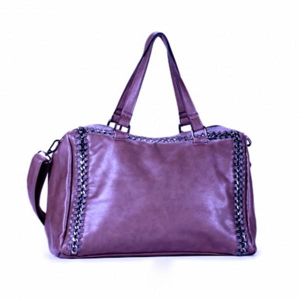 FLORA & CO Paris Handtasche VIOLETT (7022)