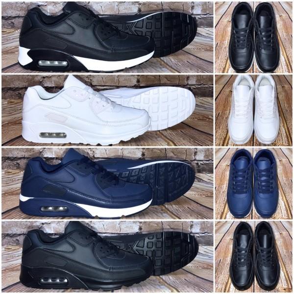 Bequeme Herren BASIC LUFT Sportschuhe / Sneakers