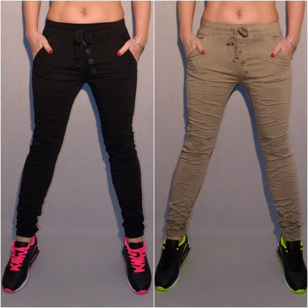 Bequeme Stretch JEANS mit Gummibund und KNÖPFEN   Jeans   Damenmode   Mode    Coral Fashion b762a9a470