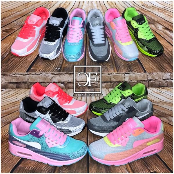 Fashion PRINT LUFT Sportschuhe / Sneakers in 6 Farben