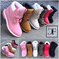Super bequeme Damen High Cut Kunstleder Boots / SCHNÜRBOOTS / Stiefel