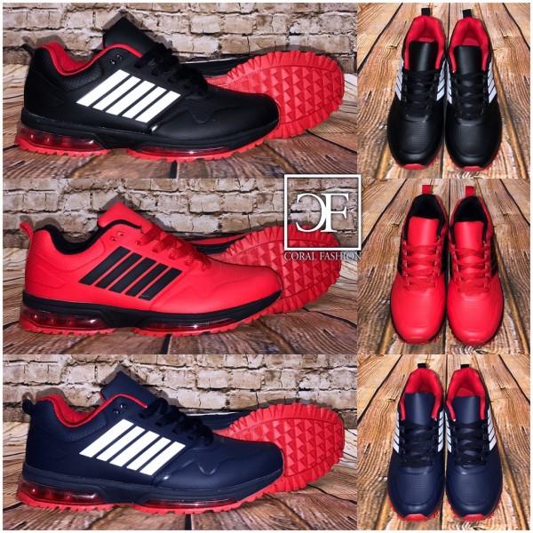 New STRIPE HERREN LUFT Sportschuhe / Sneakers in 3 Farben