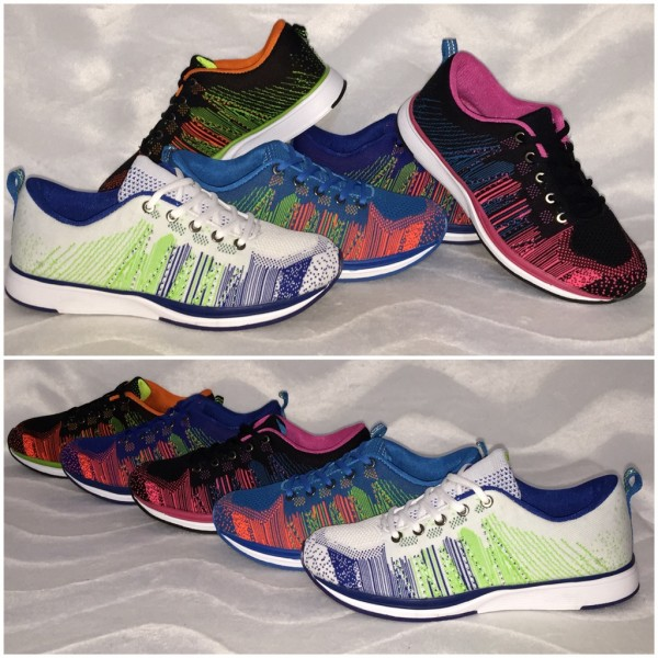 New MULTI COLOR Sportschuhe / Sneakers