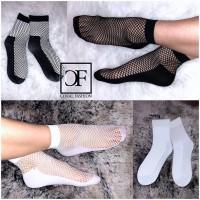 Netz SOCKEN / Netz Söckchen / Fischnetz Socken (1 Paar)