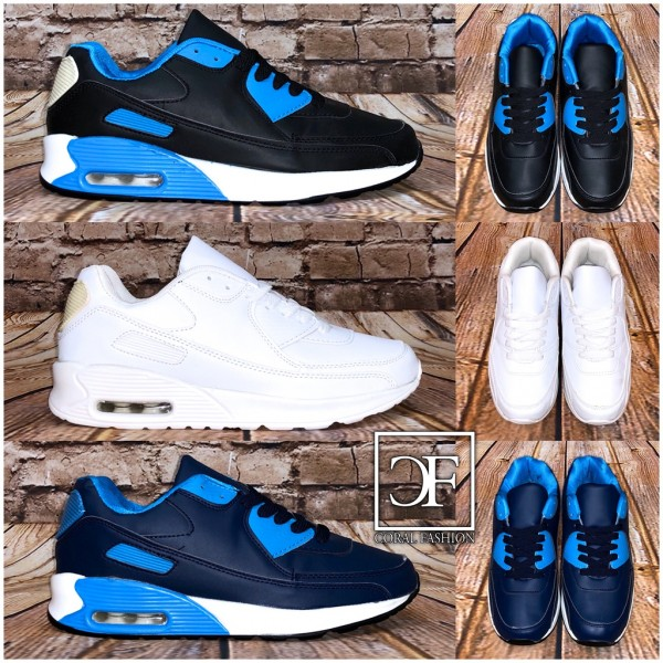 Herren Color MIX LUFT Sportschuhe / Sneakers in 3 Farben