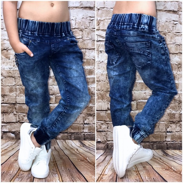 Bequeme Mädchen Kinder Stretch Jeans Mit Gummibund Jeans Damenmode Mode Coral Fashion