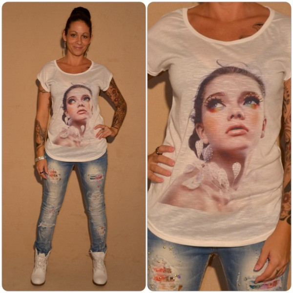 Stylisches Shirt Modell: Make Up LADY WEISS