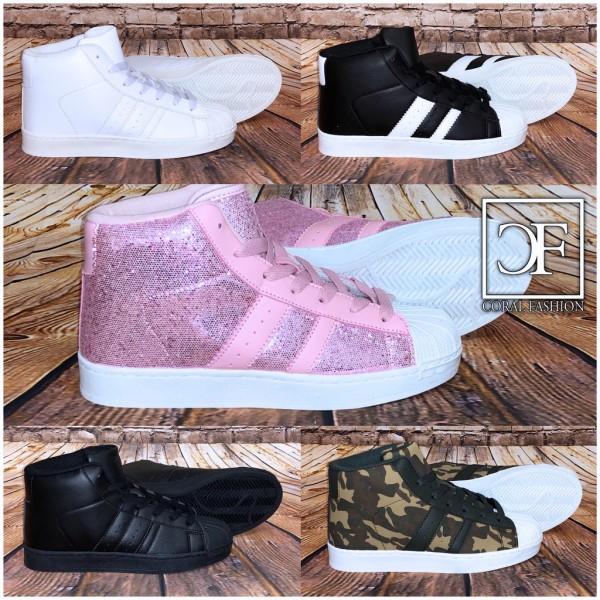 STRIPE Sportschuhe Farben 5 2 CUT Coole HIGH in Sneakers m08nOvNw