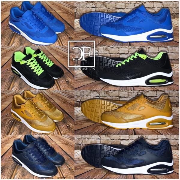 New BASIC DOUBLE LUFT Herren / Unisex Sportschuhe / Sneakers in 4 Farben