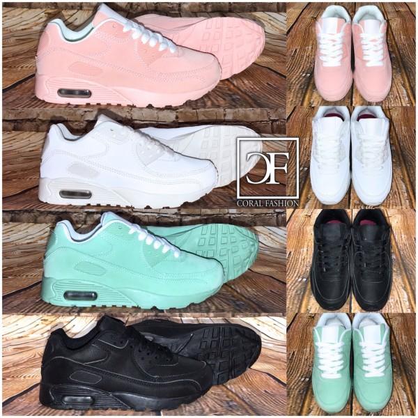 KINDER Rauleder-Look New Style LUFT Sportschuhe / Sneakers in 4 Farben