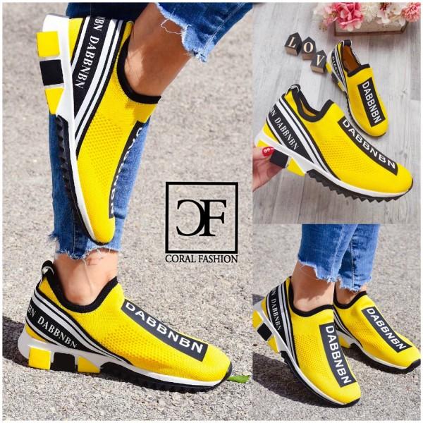 Damen Stretch Knit Lowcut Socken Sportschuhe Sneakers DABBN
