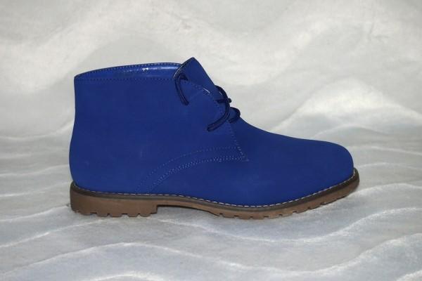 Schnürschuhe Sapphir -Blau