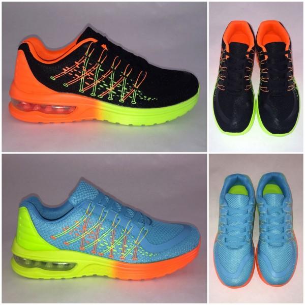 Coole Damen 2 Color LUFT Sportschuhe / Sneakers