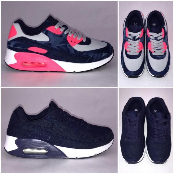 Coole DENIM / Jeans LUFT Sportschuhe / Sneakers