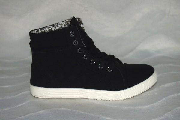 Sneakers Mid Cut SCHWARZ