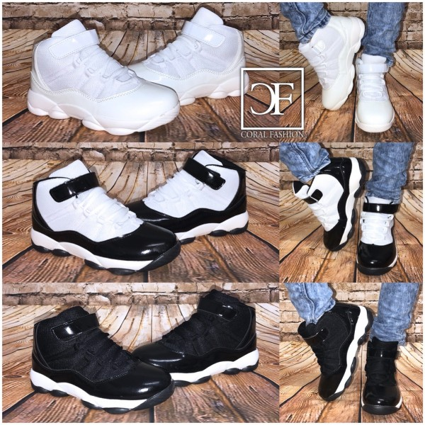 KINDER Highcut Basketball Style Sportschuhe / Sneakers