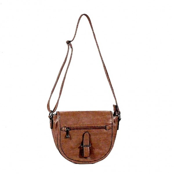 FLORA & CO Paris Schulter / Handtasche MARRONI (7656)
