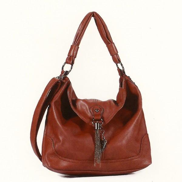 FLORA & CO Paris Handtasche ZIEGEL (9973)