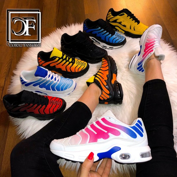 Unsex Damen Herren DOUBLE Zebra LUFT Sportschuhe / Sneakers 7 Farben