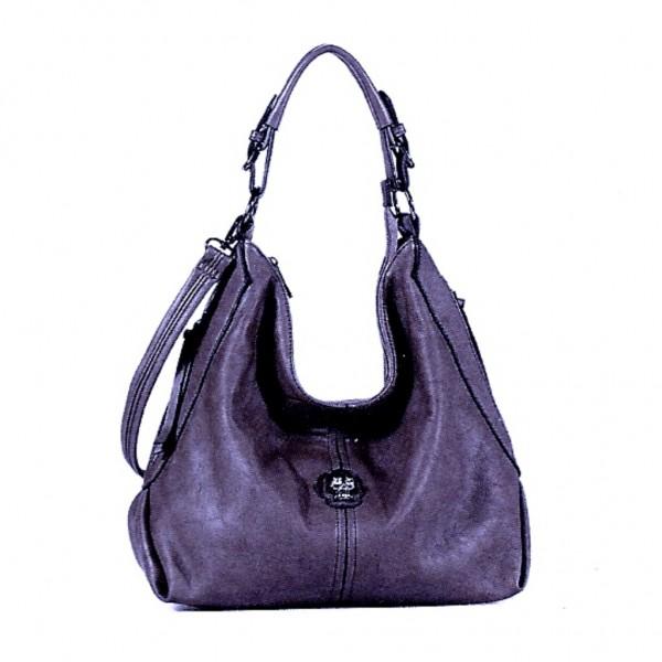 FLORA & CO Paris Handtasche mit TOTENKOPF VIOLETT (7040)